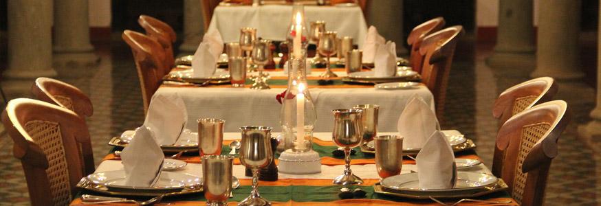 chidambara vilas dining hall